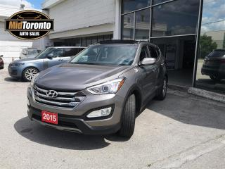 Used 2015 Hyundai Santa Fe Sport 2.0T AWD | Limited | Power Panoramic Sun Roof | Navigation | Leather | No Accidents | One Owner for sale in North York, ON