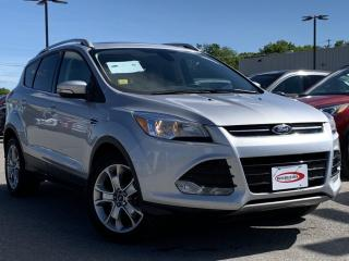 Used 2015 Ford Escape Titanium HEATED LEATHER SEATS, BLUETOOTH for sale in Midland, ON