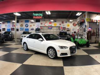 Used 2017 Audi A4 2.0T QUATTRO AUT0 LEATHER SUNROOF 103K for sale in North York, ON