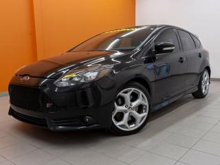 Used 2013 Ford Focus ST TURBO *TOIT* RECARO *SIEGES CHAUFF* USB* PROMO for sale in Mirabel, QC
