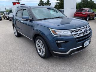 Used 2019 Ford Explorer Limited | Twin Panel Moonroof | Bluetooth for sale in Harriston, ON