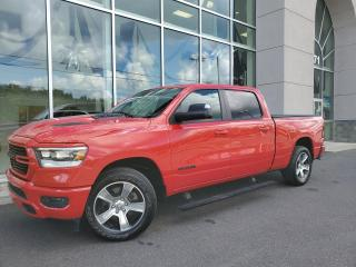 Used 2020 RAM 1500 SPORT , CREW , BOITE 6'4'' , CUIR , ÉCRA for sale in Ste-Agathe-des-Monts, QC