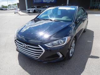 Used 2017 Hyundai Elantra 4dr Sdn Auto GLS,MAGS,CAMERA,A/C,TOIT for sale in Mirabel, QC