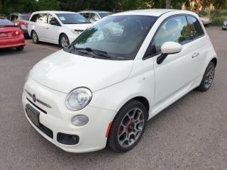Used 2015 Fiat 500 Sport for sale in Brampton, ON