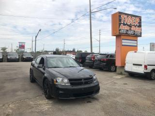 Used 2014 Dodge Avenger **BLACK ON BLACK**GREAT CONDITION**CERTIFIED for sale in London, ON