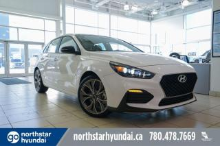 New 2020 Hyundai Elantra GT N LINE AUTO/1.6L TURBO/UPGRADED STEREO/ADAPTIVE CRUISE/COOLED SEATS for sale in Edmonton, AB