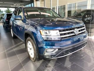 Used 2018 Volkswagen Atlas HIGHLINE, ONE OWNER, ACCIDENT FREE, SKYROOF, POWER HEATED/VENTED LEATHER SEATS for sale in Edmonton, AB