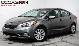 Used 2015 Kia Forte LX - Automatique GAR. 1 AN for sale in Boisbriand, QC