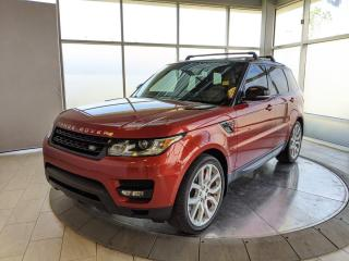 Used 2014 Land Rover Range Rover Sport V8 SC Dynamic - One Owner! Accident Free Carfax! for sale in Edmonton, AB