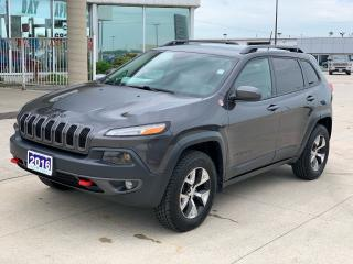 Used 2016 Jeep Cherokee Trailhawk for sale in Tilbury, ON