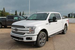 New 2020 Ford F-150 LARIAT 502A 4X4 SuperCrew 3.5L V6 Ecoboost with Auto Start/Stop, Lane Keeping System, Pre-Collision Assist, Rear View Camera, Remote Keyless Entry, and Remote Vehicle Start for sale in Edmonton, AB