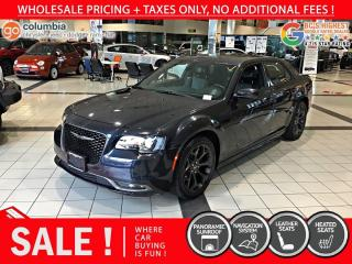 Used 2019 Chrysler 300 300S - No Accident / Local / Pano Sunroof / Nav for sale in Richmond, BC