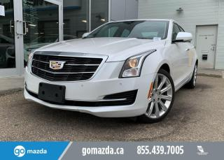 Used 2017 Cadillac ATS Sedan LUXURY - AWD, 2.0T, HEATED SEATS AND WHEEL, NAV, SUNROOF, SPORTY AND LUXURIOUS! for sale in Edmonton, AB