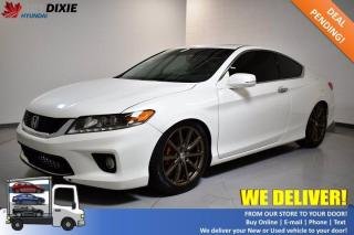 Used 2013 Honda Accord Cpe EX-L w/Navi for sale in Mississauga, ON