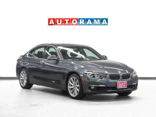 Used 2017 BMW 330xi xDrive Navigation Leather Sunroof for sale in Toronto, ON