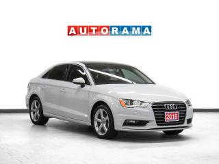 Used 2016 Audi A3 Komfort Leather Sunroof Heated Seats for sale in Toronto, ON