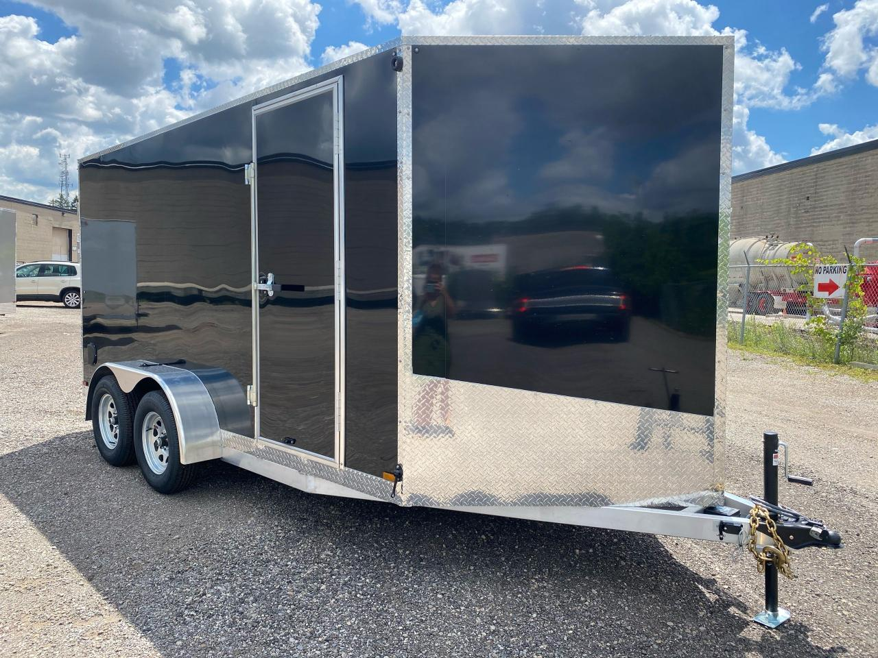 2020 Canadian Trailer Company 7x14 V Nose Cargo Trailer