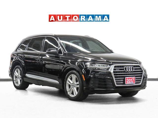 2017 Audi Q7 S-Line Quattro Technik Nav Leather PanoRoof 360Cam