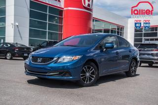 Used 2015 Honda Civic GARANTIE LALLIER MOTO-PROPULSEUR 10ANS/200,000 KIL P5100  BLEU for sale in Terrebonne, QC