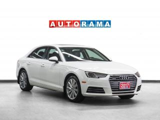 Used 2017 Audi A4 Quattro Komfort Leather Sunroof Backup Camera for sale in Toronto, ON