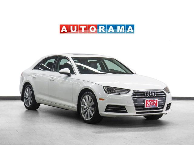 2017 Audi A4 Quattro Komfort Leather Sunroof Backup Camera