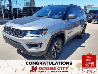 New 2020 Jeep Compass Trailhawk for sale in Saskatoon, SK