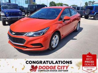 Used 2016 Chevrolet Cruze LT for sale in Saskatoon, SK