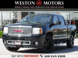 Used 2008 GMC Sierra 1500 DENALI*LEATHER*CREW CAB*6FT* for sale in Toronto, ON