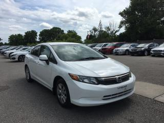 Used 2012 Honda Civic LX for sale in London, ON