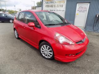 Used 2007 Honda Fit ***HATCHBACK,SPORT,MANUELLE,A/C*** for sale in Longueuil, QC