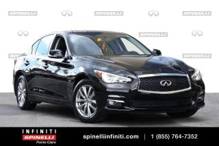 Used 2016 Infiniti Q50 2.0t / TOIT / CUIR / CAMERA / TOIT / CUIR / CAMERA for sale in Montréal, QC