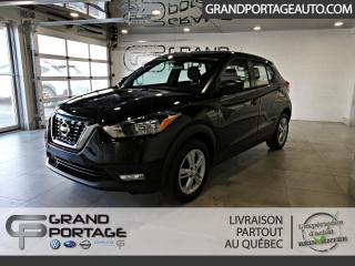 Used 2018 Nissan Kicks S CVT *Jamais accidenté* for sale in Rivière-Du-Loup, QC