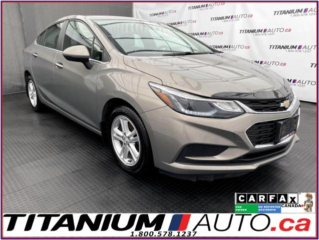 2017 Chevrolet Cruze LT+Camera+Heated Seats+Remote Start+Apple Play+XM+