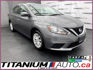 Used 2017 Nissan Sentra SV-Tech+GPS+Camera+Blind Spot+Sunroof+Heated Seat for sale in London, ON