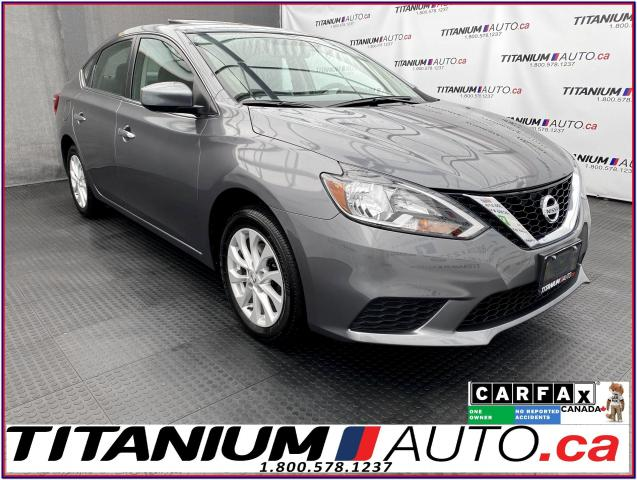 2017 Nissan Sentra SV-Tech+GPS+Camera+Blind Spot+Sunroof+Heated Seat