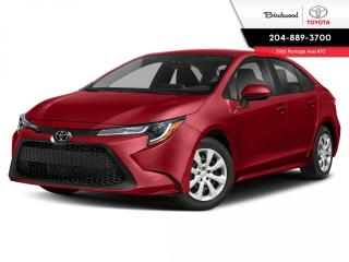 New 2020 Toyota Corolla LE STD PKG for sale in Winnipeg, MB