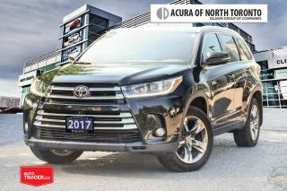 Used 2017 Toyota Highlander Limited AWD No Accident| Dealer Service| Remote St for sale in Thornhill, ON