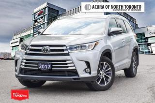 Used 2017 Toyota Highlander XLE AWD No Accident| Navgation| Blind Spot for sale in Thornhill, ON