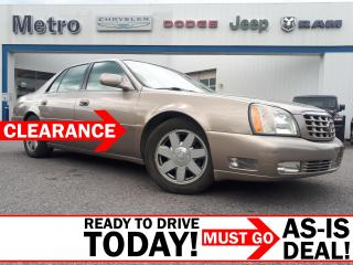 Used 2004 Cadillac DeVille DTS AS-IS for sale in Ottawa, ON