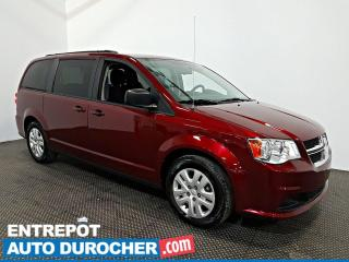 Used 2018 Dodge Grand Caravan SXT STOW'N'GO AIR CLIMATISÉ - 7 Passagers for sale in Laval, QC