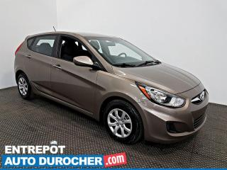 Used 2013 Hyundai Accent L Prise AUX - ÉCONOMIQUE for sale in Laval, QC