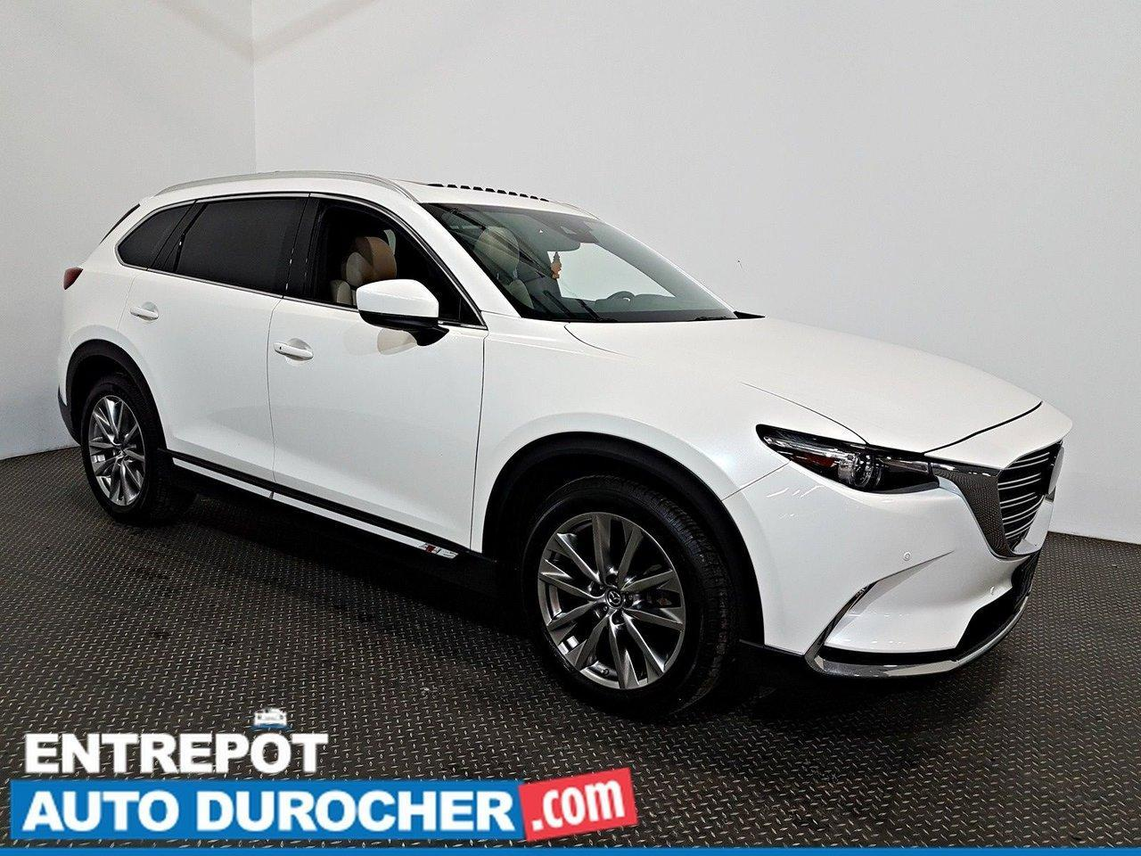 used 2018 mazda cx-9 gt awd navigation - toit ouvrant - a c 7 passagers for sale in laval, quebec carpages.ca