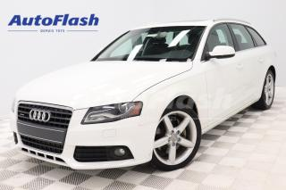 Used 2012 Audi A4 2.0T_Avant Premium *Wagon/Familiale *Quattro for sale in Saint-Hubert, QC