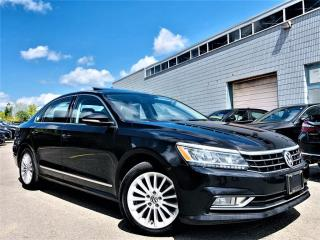 Used 2017 Volkswagen Passat |SUNROOF|REAR VIEW|CRUISE CONTROL|LEATHER|ALLOYS|WOOD TRIM! for sale in Brampton, ON