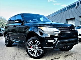 Used 2016 Land Rover Range Rover Sport |HUD|PANORAMIC|BIRD EYE VIEW|AIR SUSPENSION|NAVIGATION! for sale in Brampton, ON
