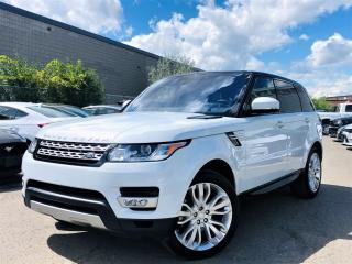 Used 2016 Land Rover Range Rover Sport DIESEL|HUD|BIRD EYE |PANORAMIC|AIR SUSPENSION|MEMORY SEATS for sale in Brampton, ON
