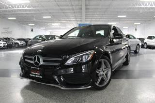 Used 2016 Mercedes-Benz C-Class C300 4MATIC NO ACCIDENTS I A.M.G I NAVIGATION I PANOROOF for sale in Mississauga, ON