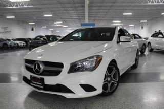 Used 2016 Mercedes-Benz CLA-Class CLA250 NO ACCIDENTS I NAVIGATION I AMBIENT LIGHT I LEATHER for sale in Mississauga, ON