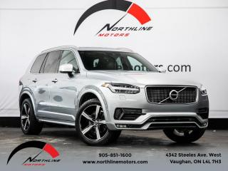 Used 2016 Volvo XC90 T6 R-Design|7 Passenger|Navigation|Camera|Heated Leather for sale in Vaughan, ON