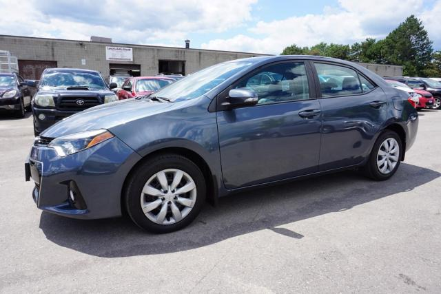 2015 Toyota Corolla S 6Spd CERTIFIED 2YR WARRANTY *1OWNER* CAMERA BLUETOOTH HEATED LEATHER